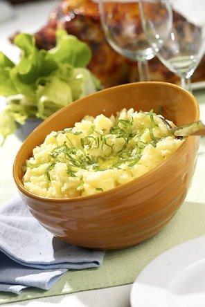 Puree ziemniaczane z ziołami  prosty przepis i składniki