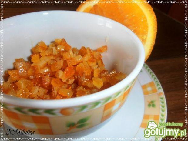 Przepis  kandyzowana skórka pomarańczowa 5 przepis