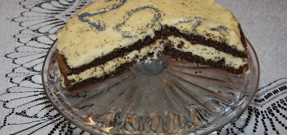 Pyszny tort z gotowej masy makowej (autor: fotoviderek ...