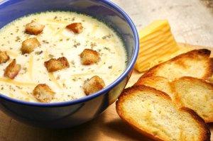 Zupa serowo  ziołowa  prosty przepis i składniki