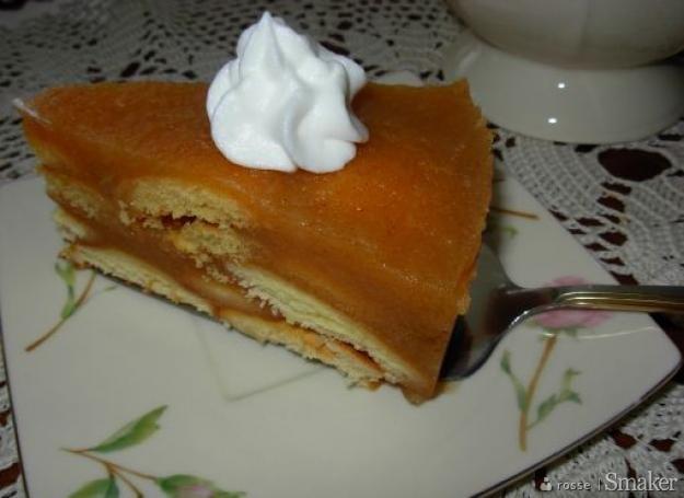 Ciasto z jabłkami-jabłkowy przysmak