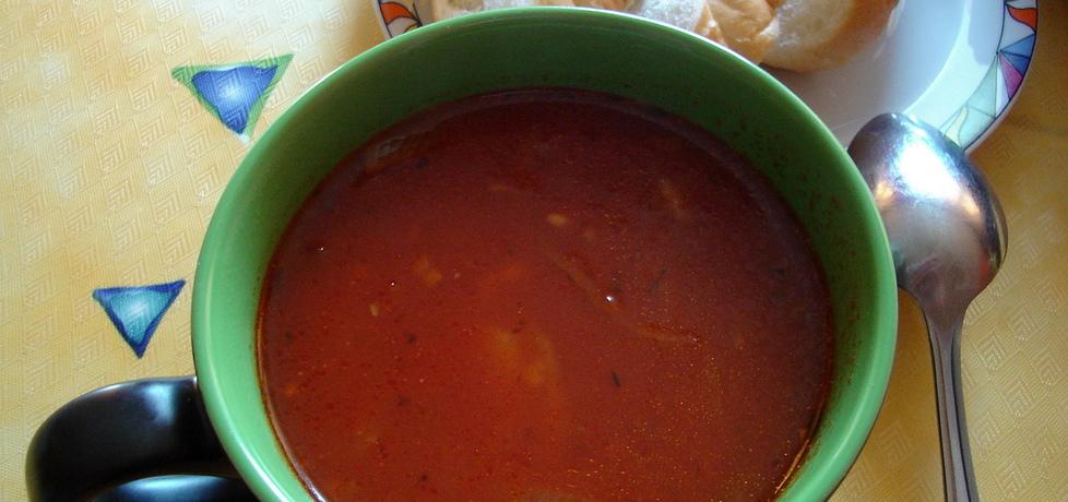 Hiszpańska zupa pomidorowa (autor: lidzia)