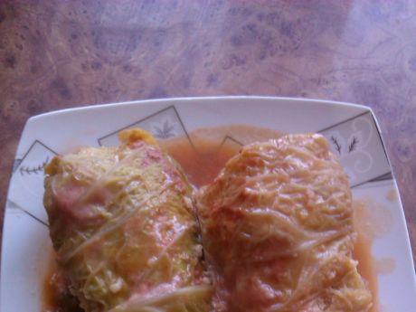 Przepis  duszone gołąbki w sosie pomidorowym przepis