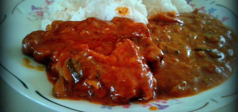 Karczek w sosie pomidorowym (autor: pyszota)