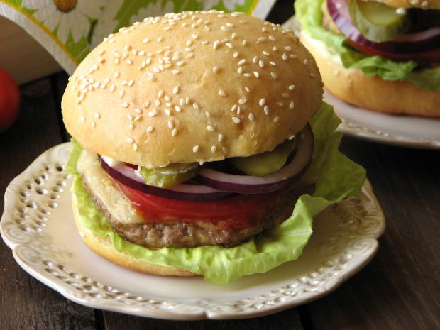 Przepis  amerykańskie hamburgery przepis