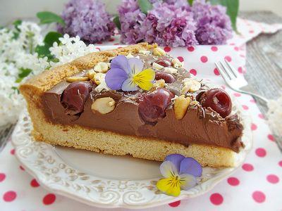 Tarta czekoladowa z wiśniami