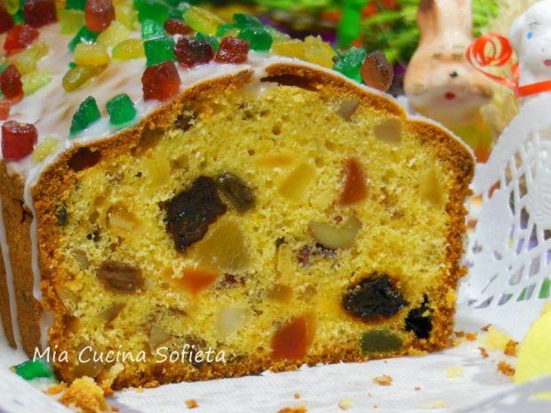 Przepis  wielkanocny keks przepis