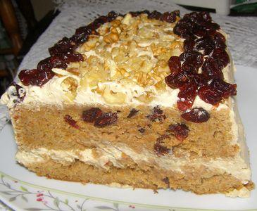 Ciasto marchewkowo