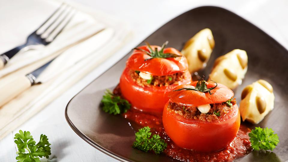Przepis na pomidory faszerowane