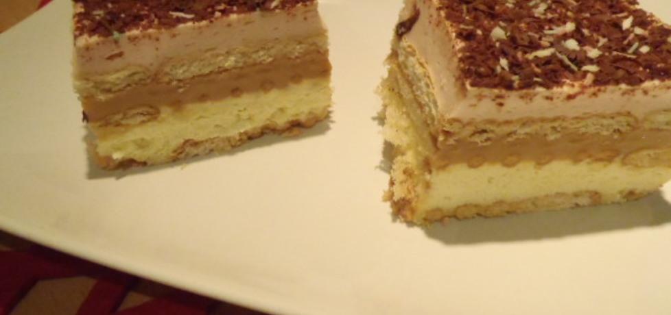 Warstwowe ciasto na herbatnikach (autor: magula)