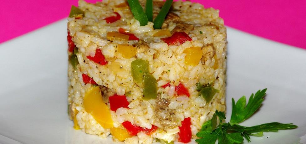 Ryż z łopatką i papryką (autor: evita0007)
