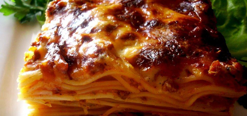 Spaghetti zapiekane a'la lazagne (autor: smacznapyza ...