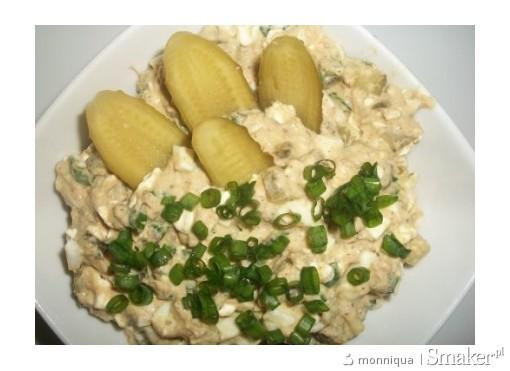 Sałatka z tuńczyka i serka wiejskiego