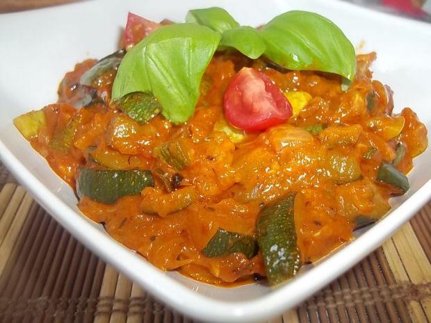 Przepis  smażona cukinia curry przepis