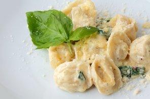 Pierogi z serem pleśniowym  prosty przepis i składniki
