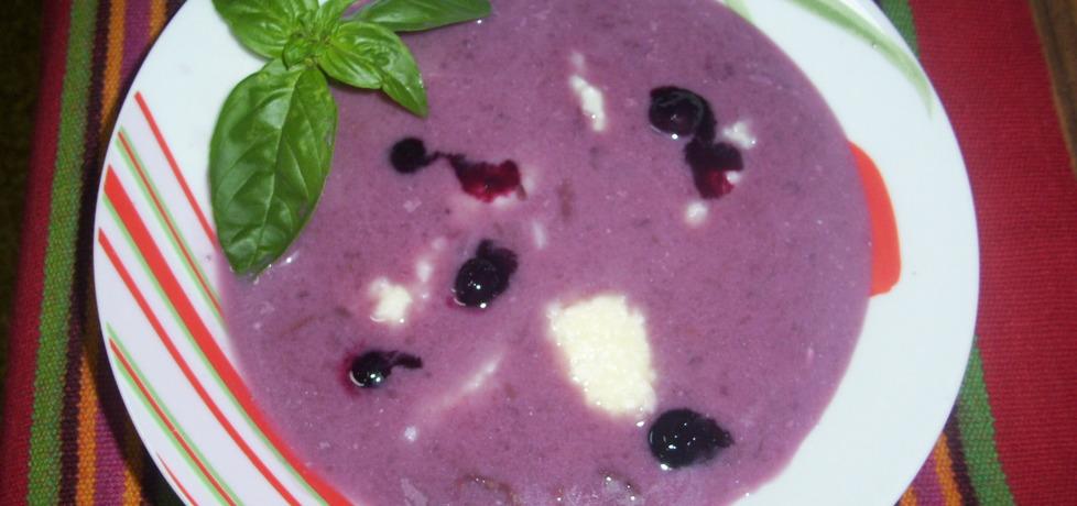 Zupa owocowa  borówkowa (autor: misia53)