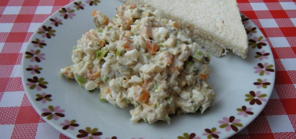 Sałatka z makreli w oleju i marchewki (autor: ikrakowianka ...