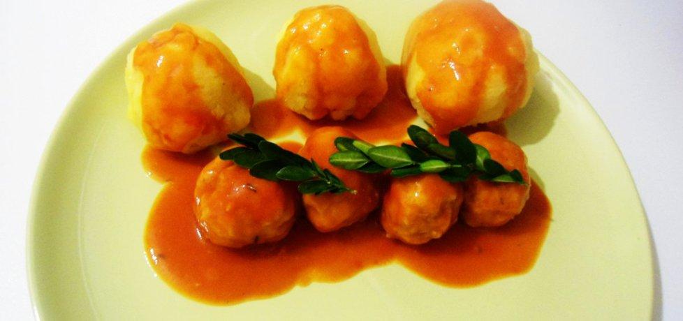 Pulpeciki wieprzowe w sosie pomidorowym (autor: klausia ...