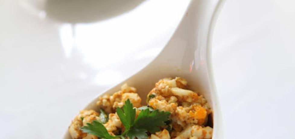 Pasta jajeczna z curry (autor: anioly-w-kuchni)
