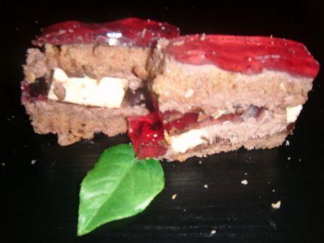 Przepis  ciasto czekoladowe z ptasim mleczkiem przepis
