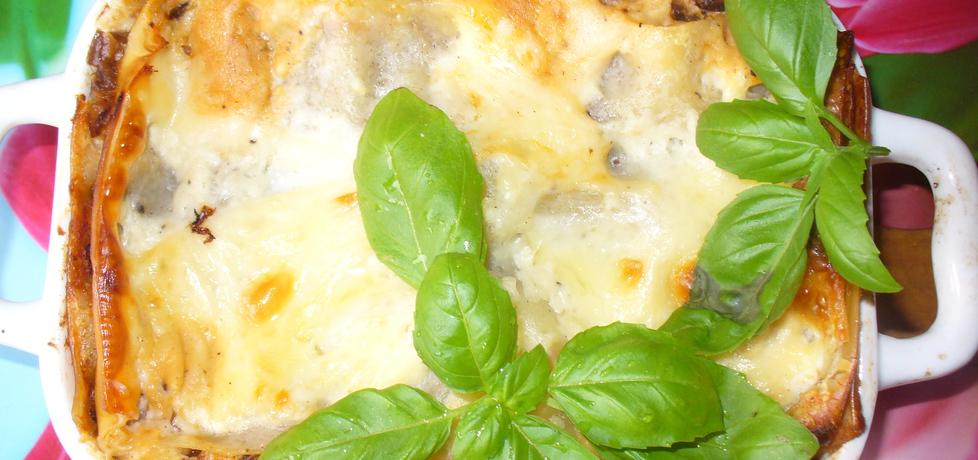 Lasagne z grzybami w sosie pomidorowym (autor: jagoda5913 ...