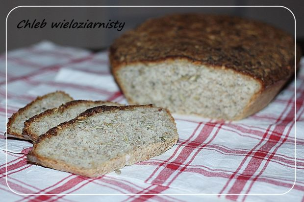 Przepis  chleb wieloziarnisty na drożdżach przepis
