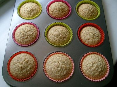 Owsiane muffiny cytrynowe