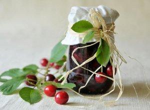 Dżem wiśniowy  prosty przepis i składniki