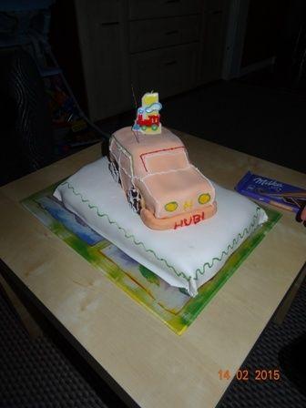 Przepis  tort auto dla roczniaka przepis