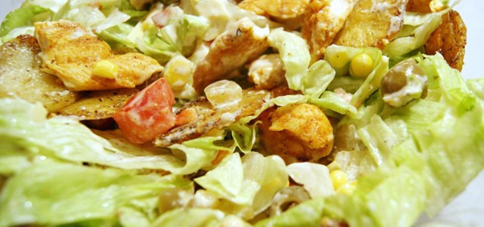 Sałatka paryska z kurczakiem (autor: gotuj-z