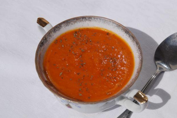 Przepis  zupa z pieczonych warzyw przepis