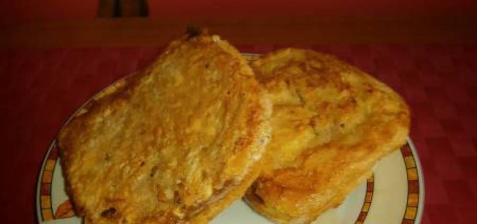 Smażone tosty z mozzarellą. (autor: nogawkuchni)