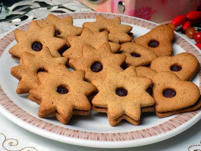 Ciasteczka korzenne z miodem
