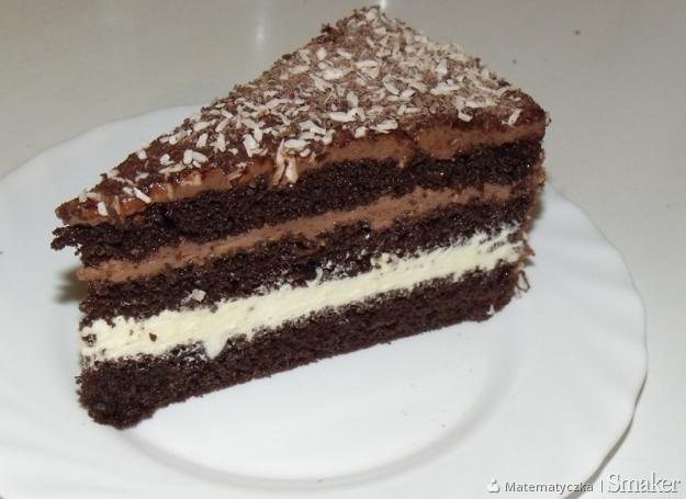 Tort czekoladowo  śmietankowy