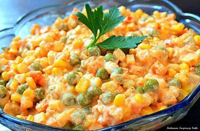 Sałatka serowo