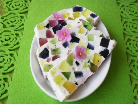Przepis  kryształek- kolorowy deser przepis