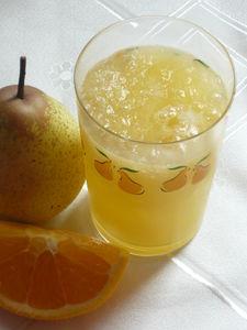 Koktajl gruszkowo – pomarańczowy.