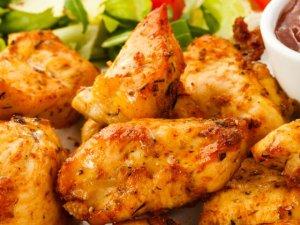 Kąski z piersi kurczaka  prosty przepis i składniki