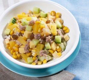 Tuńczyk z ananasem  prosty przepis i składniki