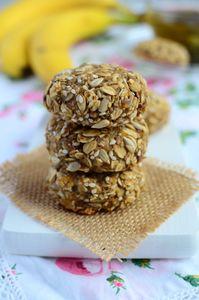Fit ciasteczka z płatków owsianych (bez mąki, jajek, cukru i tłuszczu ...