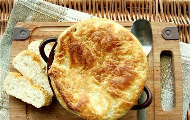 Przepis  kremowa zupa na rauszu z frutti di mare przepis