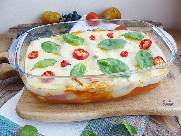 Przepis  cannelloni ze szpinakiem i mięsem przepis
