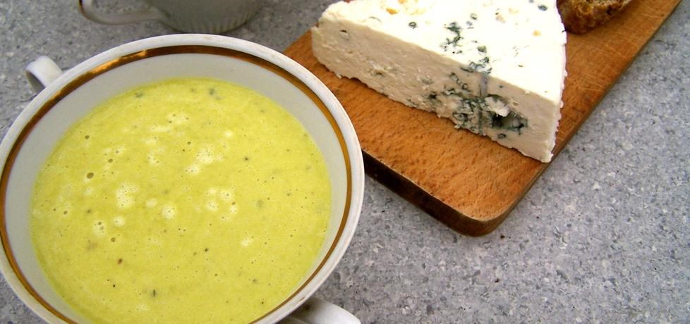 Zupa porowa z serem pleśniowym (autor: caralajna ...