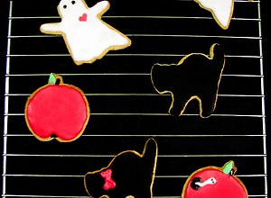 Imbirowo-cynamonowe ciasteczka na halloween