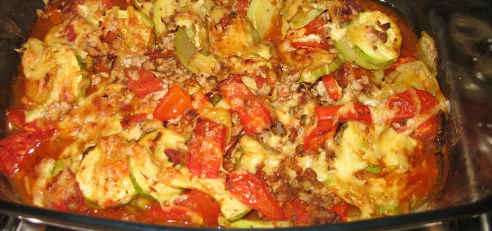 Zapiekanka mięsno  warzywna (autor: berys18)