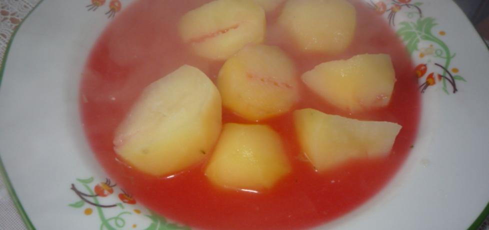 Barszcz czerwony z dodatkiem ziemniaków (autor: owocowka ...