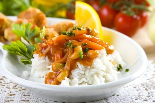 Ryż w sosie słodko-kwaśnym