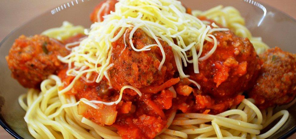 Spaghetti z pulpecikami (autor: zolzica)