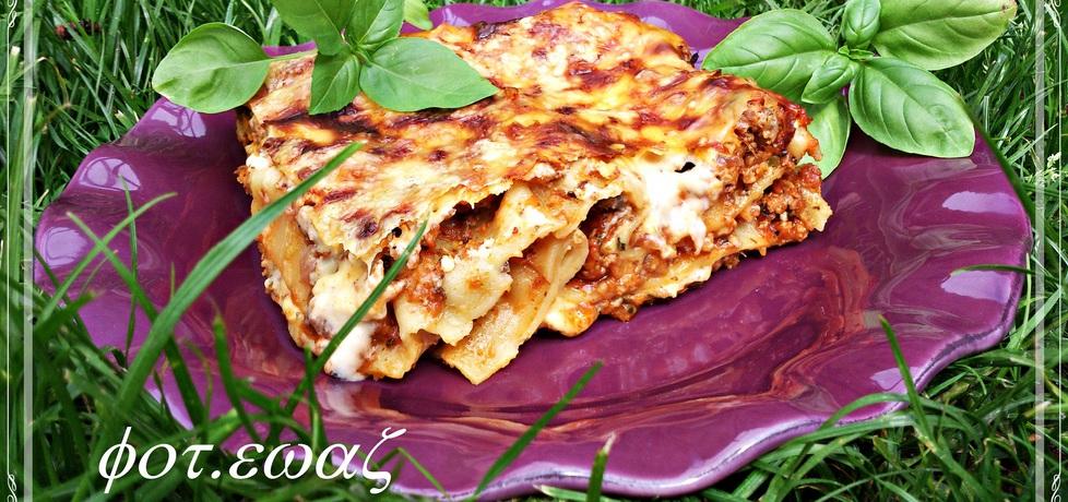 Lasagne mięsno warzywna (autor: zewa)