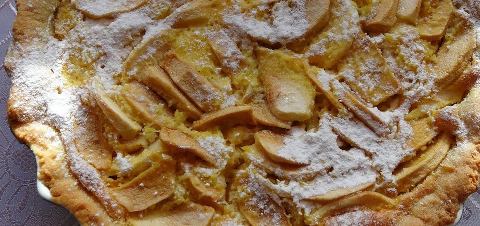 Tarta jabłkowa z masą śmietankowo
